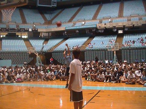 summer basketball camp free throw