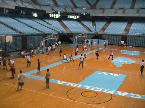 kids basketball training