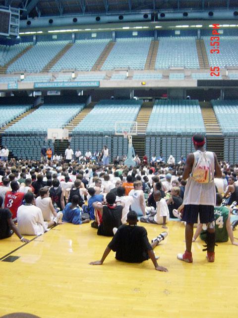 youth camp basketball training