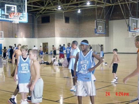 basketball summer camp game