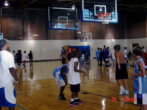 youth summer basketball training