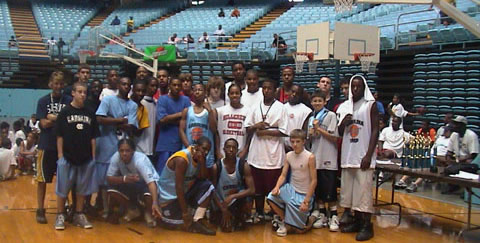 resident basketball camp